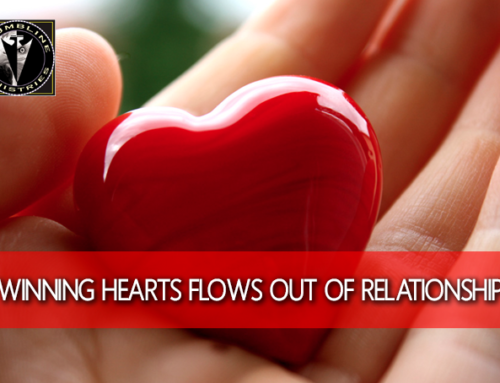 Winning Hearts Flows Out Of Relationship